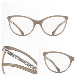 Chanel cateye crystal eyeglasses